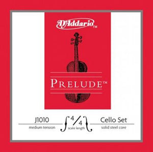 D'Addario Prelude Cello String Set (Medium Tension)