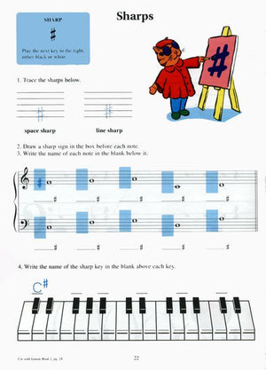 Hal Leonard Student Piano Library:Piano Theory Workbook- Book 2 - Music Creators Online
