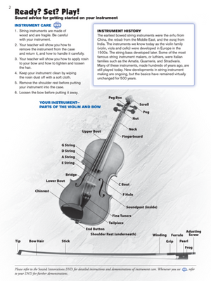 Sound Innovations for String Orchestra Book 1 - Violin - Music Creators Online