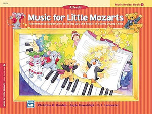 Music for Little Mozarts: Music Recital Book 1 - Music Creators Online