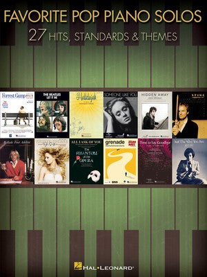 Favorite Pop Piano Solos - 27 Hits, Standards & Themes