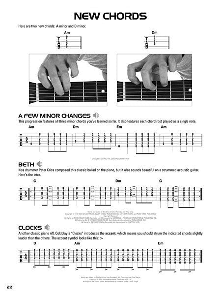 Hal Leonard Acoustic Guitar Tab Method - Book 1 Book with Online ...