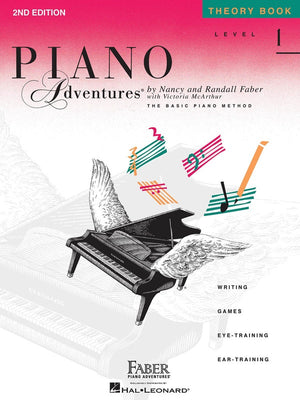 Piano Adventures:  Level 1 Theory Book - Music Creators Online