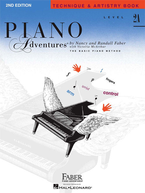 Piano Adventures 2A- Technique & Artistry Book