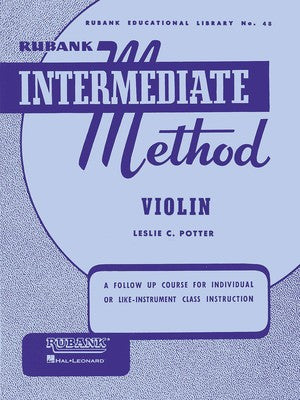Rubank Intermediate Method - Violin - Music Creators Online