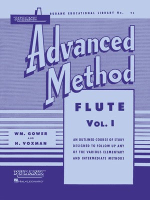 Rubank Advanced Method - Flute Vol. 1