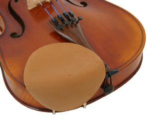 Chin Comforter- Strad Pad Standard Size Beige for Violin