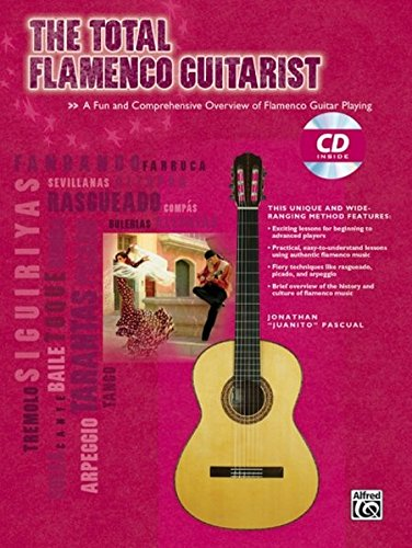 TOTAL FLAMENCO GUITARIST BK/CD