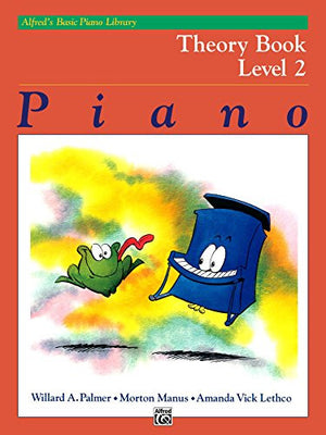 Alfred's Basic Piano Library: Theory Book 2 - Music Creators Online