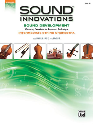 Sound Innovations Sound Development Intermediate - Violin