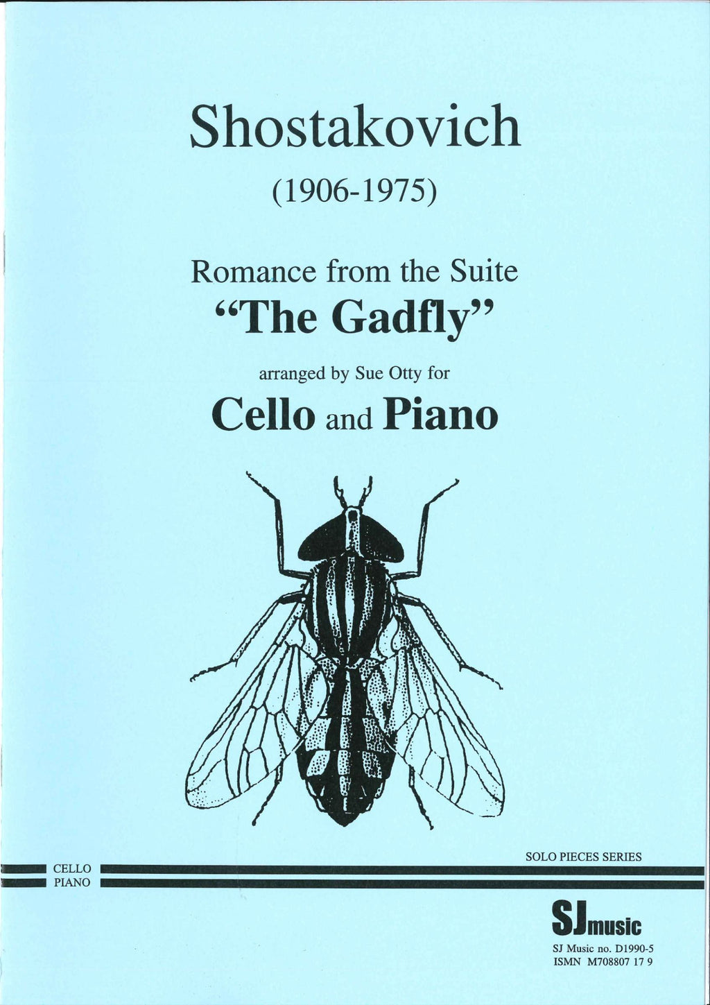 Romance From Gadfly arr Cello/ Piano - Music Creators Online