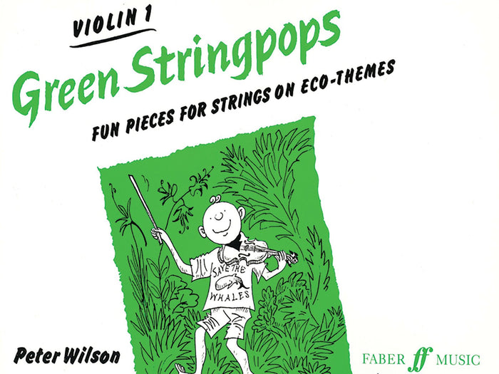 Green Stringpops Violin 1