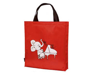 Music Carry Bag- Tall Red Eleph Piano