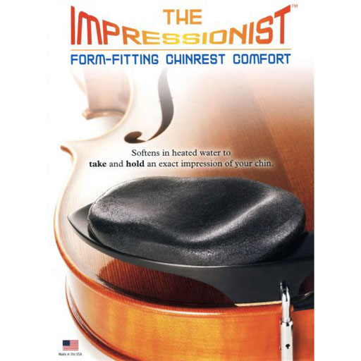 Chin Comforter- The Impressionist Form Fitting Comfort for Chinrests - Large Size