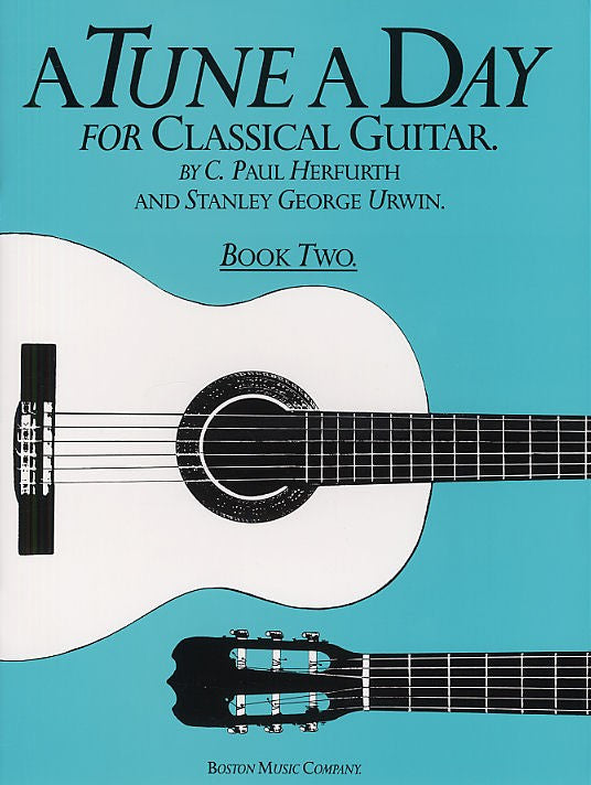 A Tune A Day for Classical Guitar Book 2 - Music Creators Online