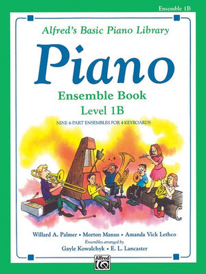 Alfred's Basic Piano Library- Ensemble Book 1B
