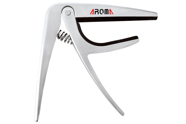 Aroma AC02 Silver Classical Guitar Capo (20% OFF) - Music Creators Online