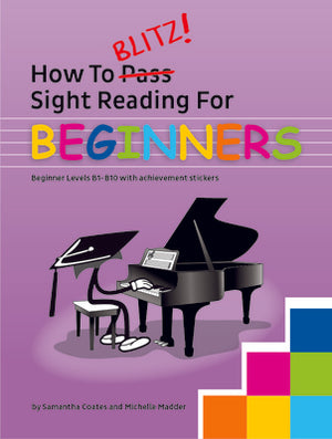 How To Blitz Sight Reading for Beginners - Music Creators Online