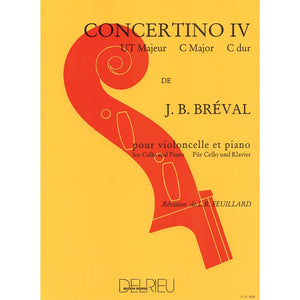 Breval Concertino No. 4 in C major for Cello and Piano - Music Creators Online