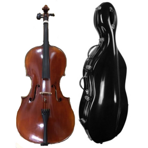 A. Master Cello (4/4 size) Outfit with Hard Case (20% Off Aug-Sept)