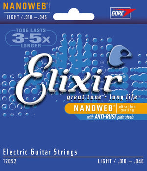 Elixir Electric Guitar Strings .010-.046 Light - 12052 (20% OFF) - Music Creators Online