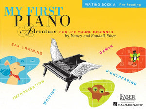 My First Piano Adventure Writing Book A - Music Creators Online