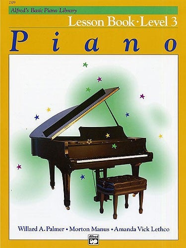 Alfred's Basic Piano Library: Lesson Book 3 - Music Creators Online