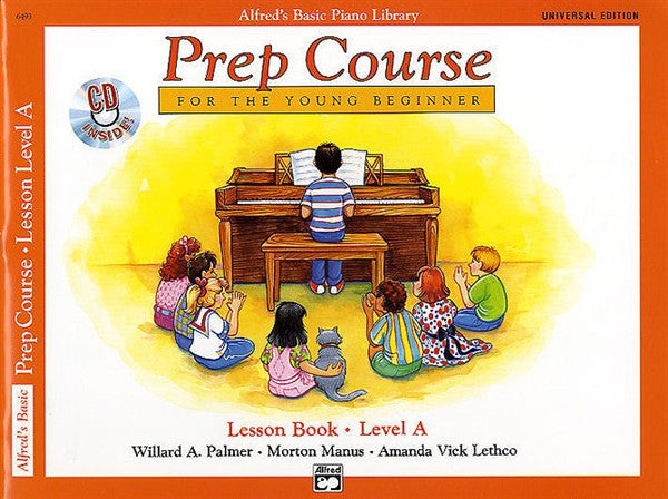 Alfred's Basic Piano Prep Course: Lesson Book A w CD