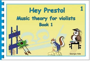 Hey Presto! Music Theory for Violists Book 1 - Music Creators Online