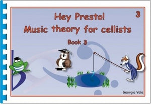 Hey Presto Music Theory for Cellists Book 3 - Music Creators Online