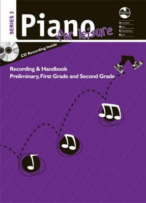 Piano For Leisure Preliminary To Grade 2 Series 3 CD REC BK