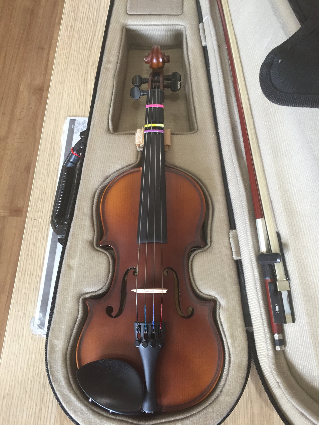 Second-Hand - Enrico Student Plus II (1/8 Size) Violin Outfit