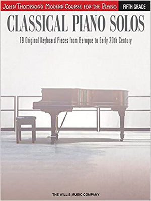John Thompson's Classical Piano Solos