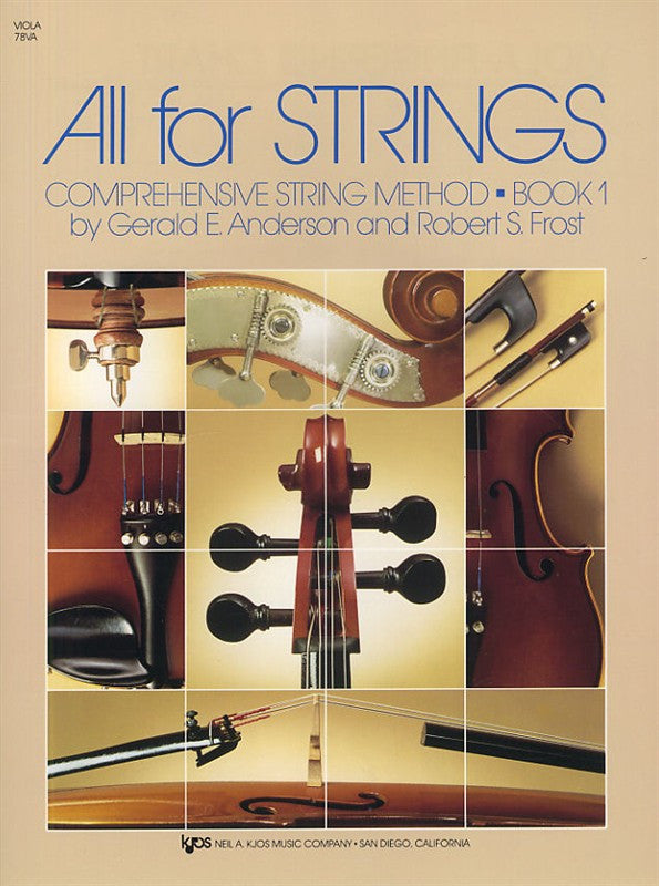 All For Strings Book- Viola 1 - Music Creators Online
