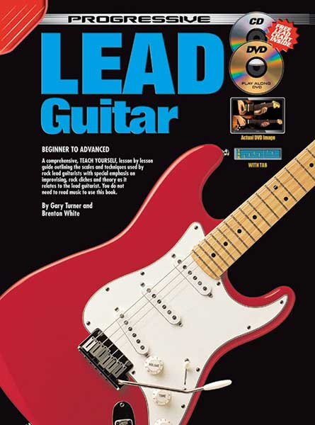 Progressive Lead Guitar Book/CD/DVD - Music Creators Online