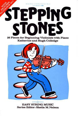 Stepping Stones - 26 Pieces for Beginning Violinists and Piano - Music Creators Online