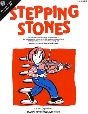 Stepping Stones - Violin with CD - Music Creators Online