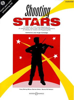 Shooting Stars- 21 pieces for violin with playalong CD - Music Creators Online