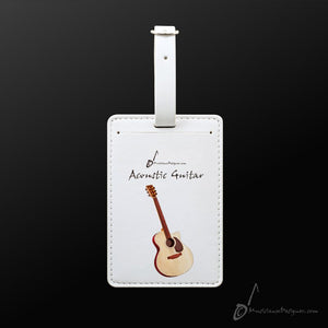 Luggage Tag- Acoustic Guitar