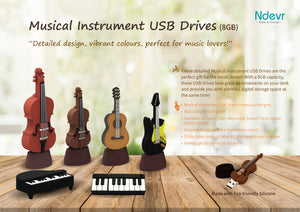 Grand Piano USB Drive (8GB)