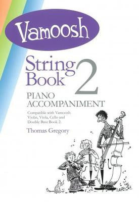 Vamoosh String Book 2 Piano Accompaniments - Music Creators Online