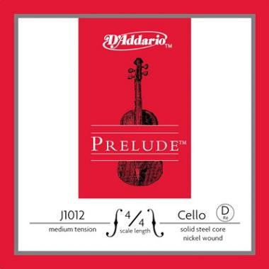 D'Addario Prelude Cello- Single D (Medium Tension) - Music Creators Online