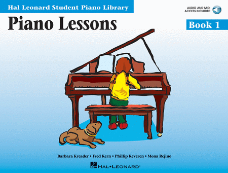 Hal Leonard Student Piano Library: Piano Lessons Book 1 w CD