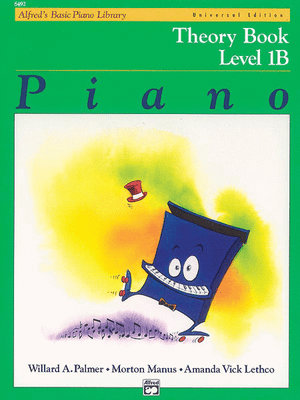 Alfred's Basic Piano Library: Theory Book 1B - Music Creators Online
