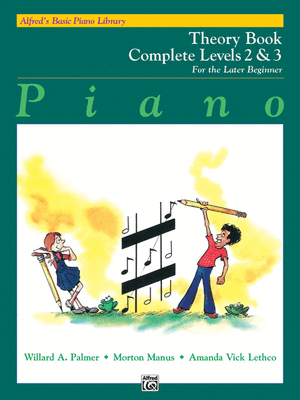 Alfred's Basic Piano Library: Theory Book Complete 2 & 3 - Music Creators Online