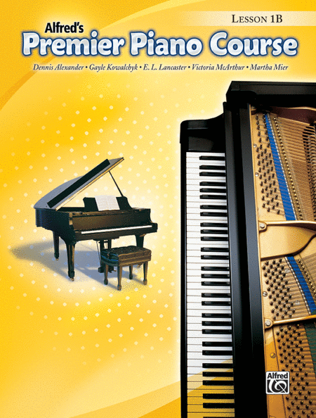 Alfred's Premier Piano Course, Lesson 1B w CD