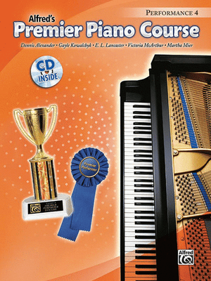 Alfred's Premier Piano Course, Performance 4 w CD - Music Creators Online