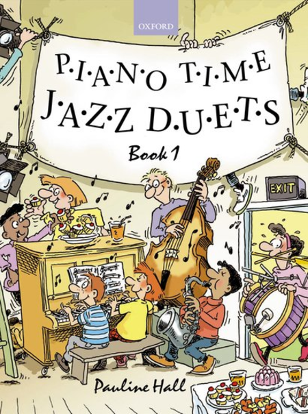 Piano Time Jazz Duets Book 1 - Music Creators Online