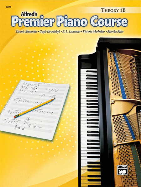 Alfred's Premier Piano Course, Theory 1B - Music Creators Online