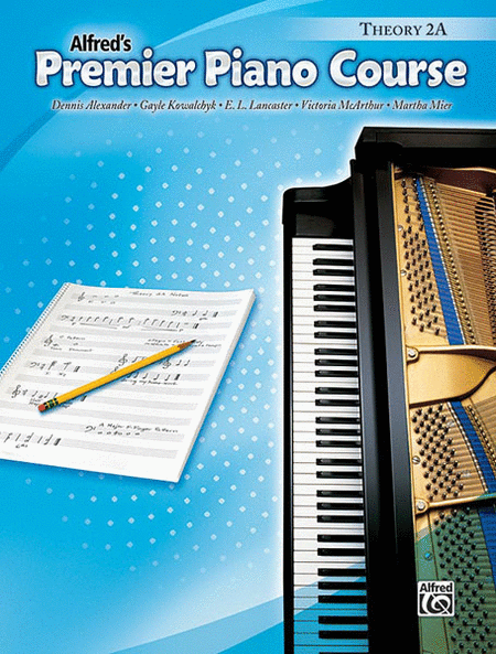 Alfred's Premier Piano Course, Theory 2A - Music Creators Online